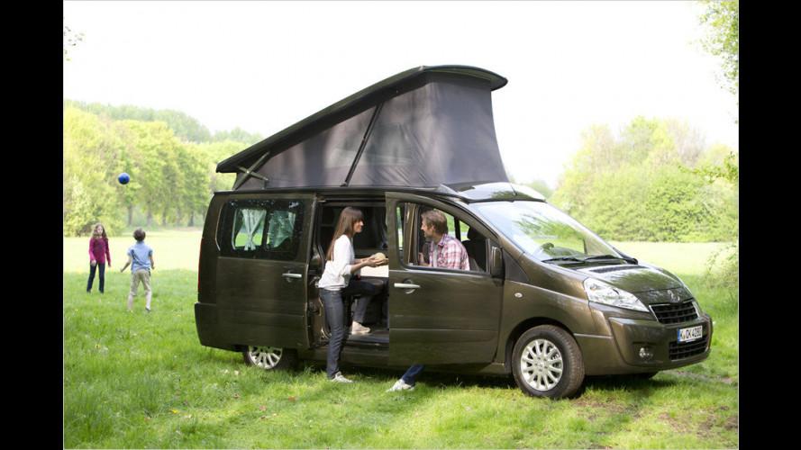 Neue Westfalia-Reisemobile von Peugeot und Citroën