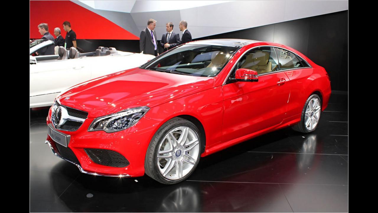Mercedes E-Klasse Coupé Facelift