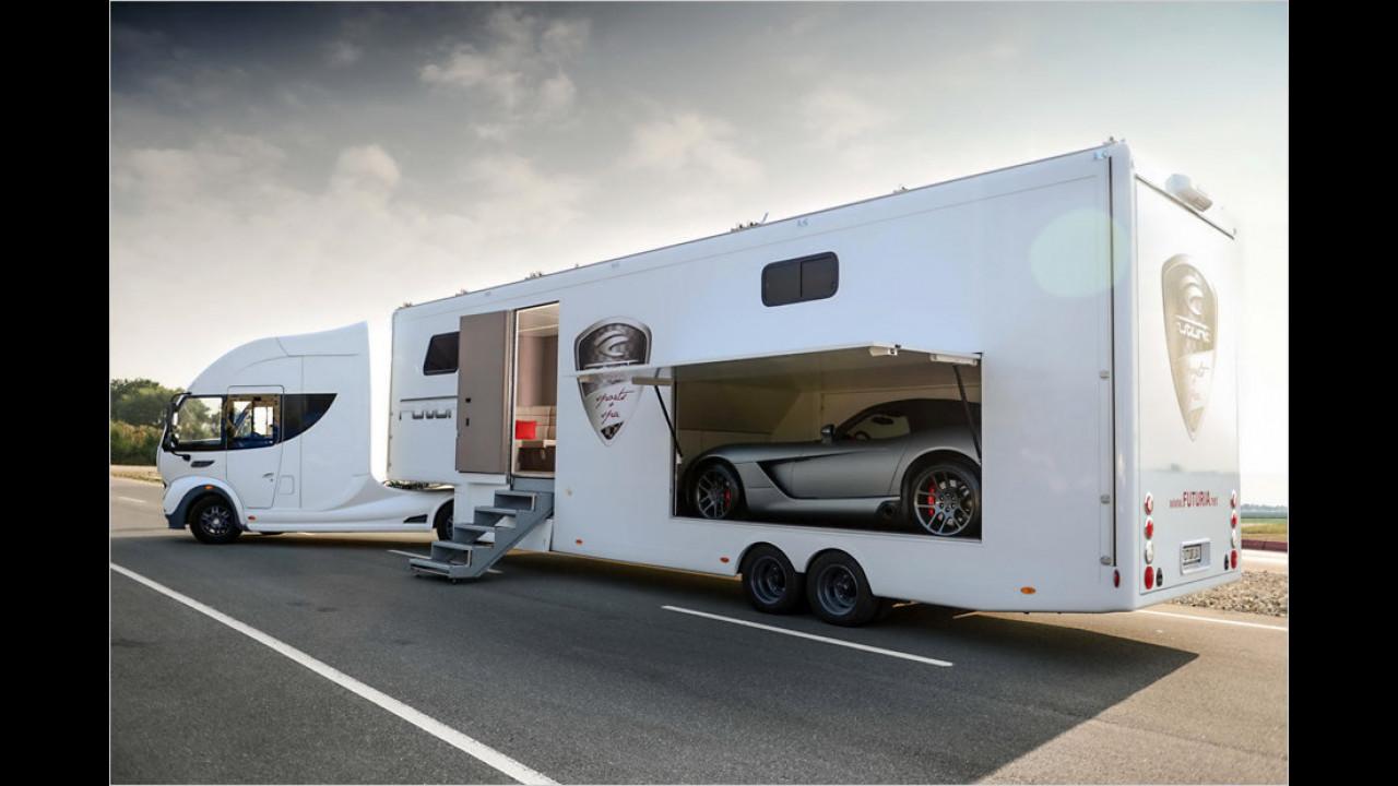 Most Mobile Specials Futuria Sports&Spa-Sattelzug