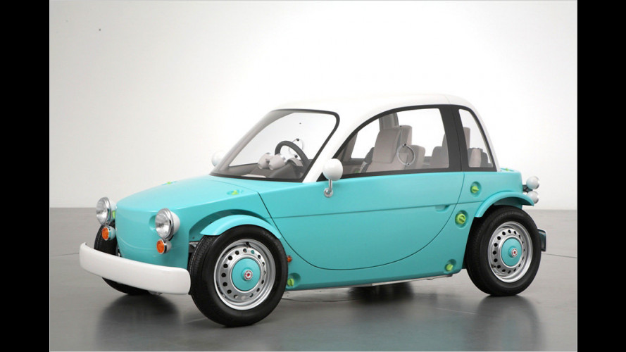 Dreisitziges Minimobil für Kinder und Erwachsene