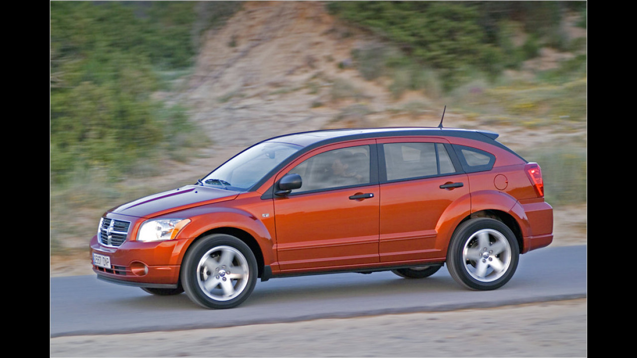 Zehn Exemplare: Dodge Caliber