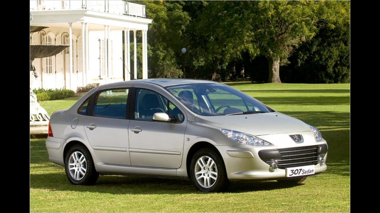 Peugeot 307 Stufenheck