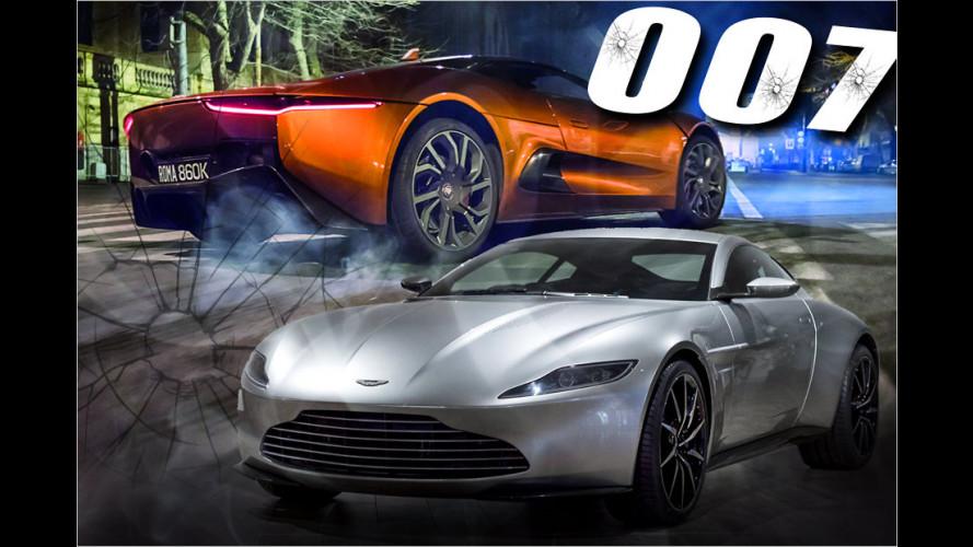 Die coolsten Dienstfahrzeuge von 007
