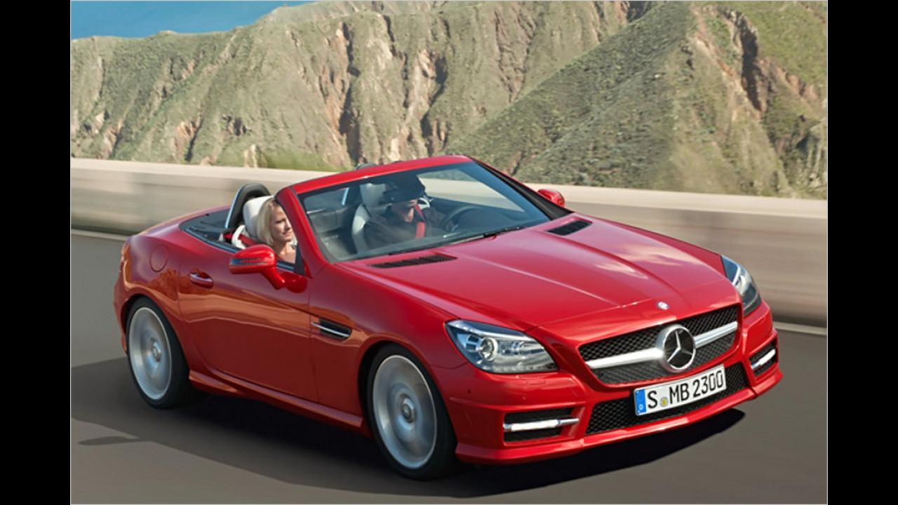 Sportwagen/Cabrio, 0 bis 50.000 Kilometer: Mercedes SLK (2011)