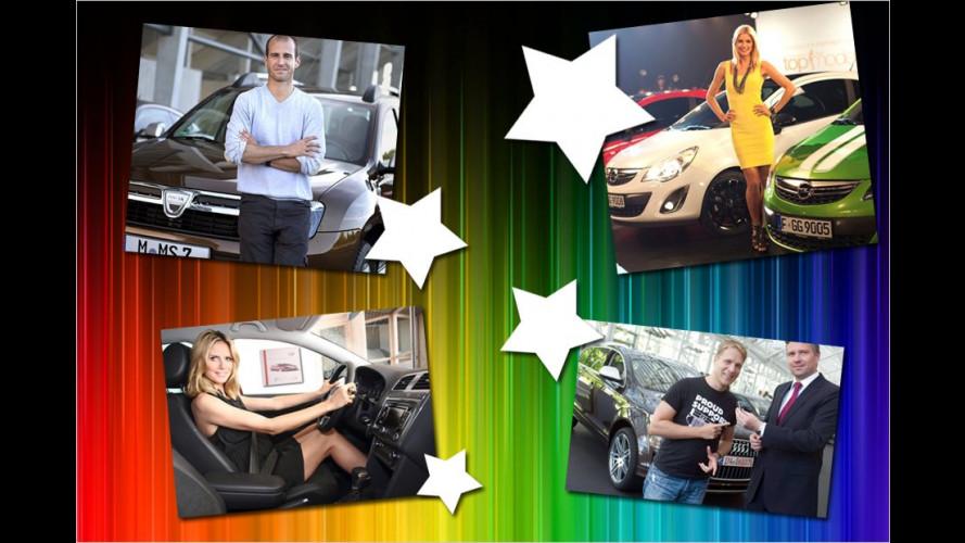 Welcher Promi fährt welches Auto?