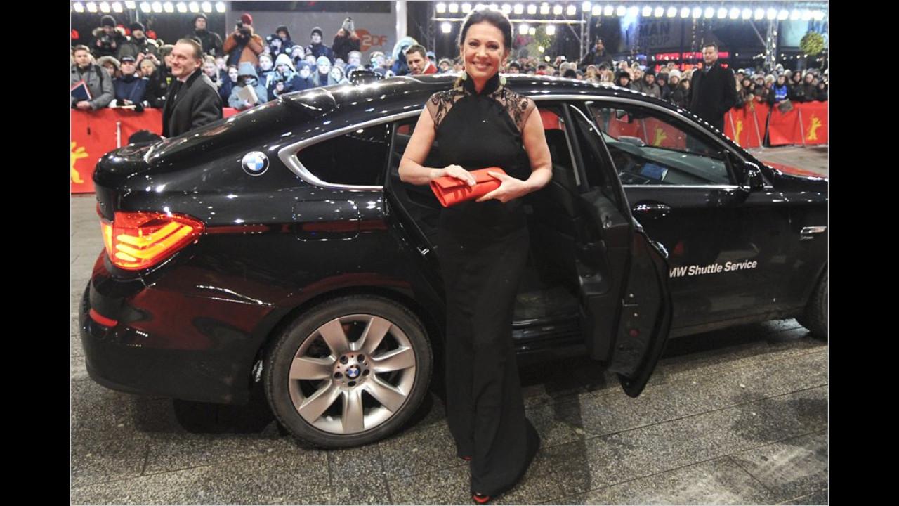 Iris Berben: BMW 5er GT