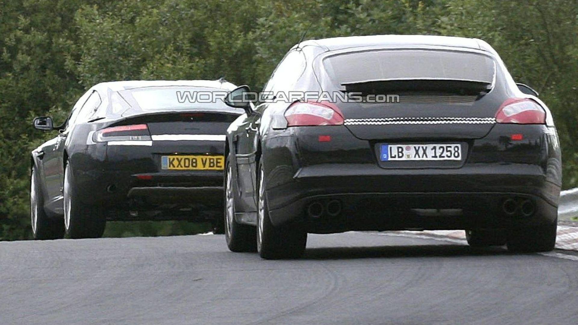 Aston Martin Rapide Vs Porsche Panamera 46316