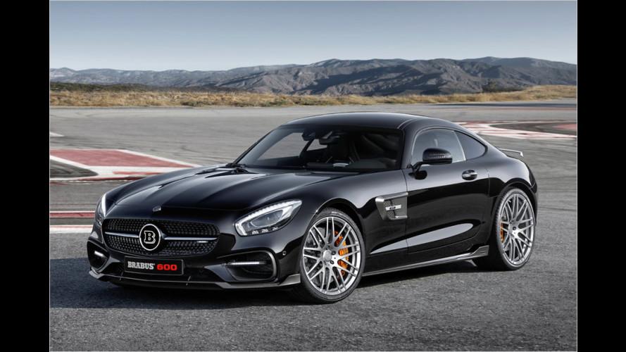 Brabus macht dem Mercedes-AMG GT S mehr Dampf (2015)
