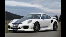 Porsche breiter und flacher gemacht