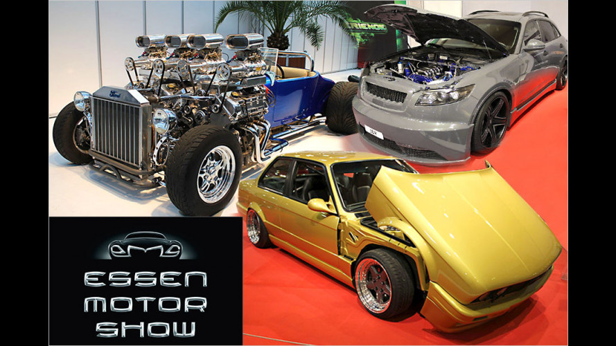 Essen Motor Show 2014: Die verrücktesten Exponate der Tuning-Messe