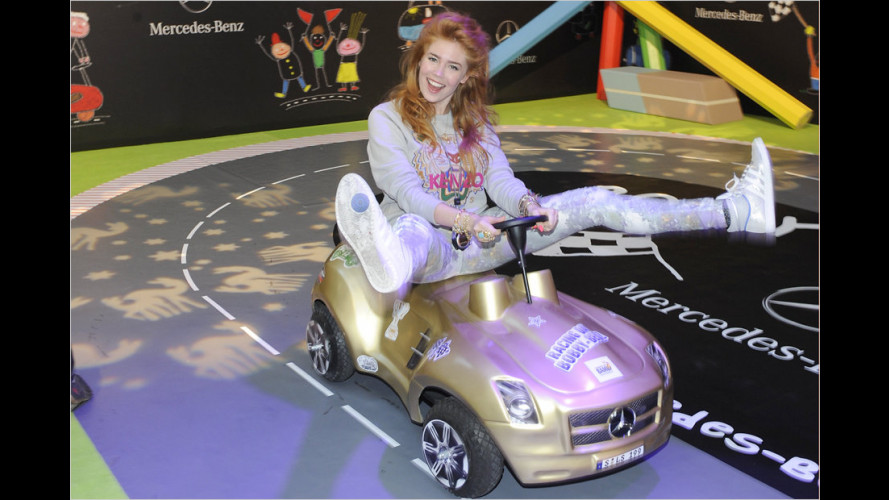 Tribute to Bambi: Promi-Rennen mit Bobby-Cars