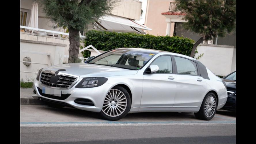 Erwischt: Mercedes S-Klasse Pullman