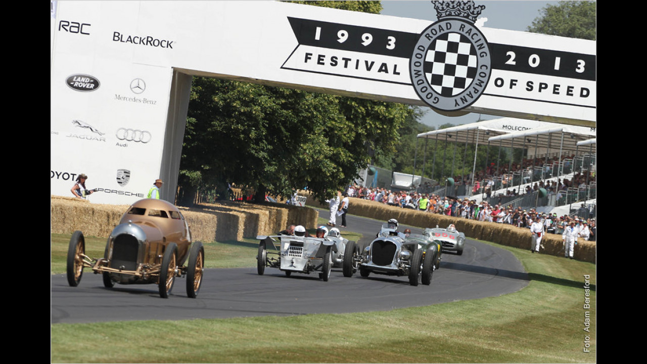 20 Jahre Goodwood Festival of Speed