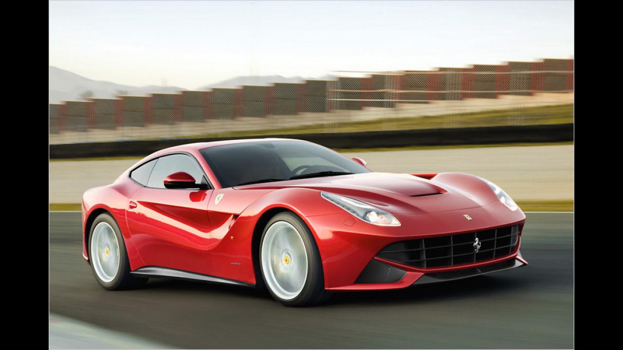 Ferrari F12berlinetta: 740 PS