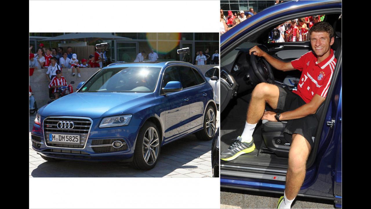 Thomas Müller: Audi SQ5 TDI