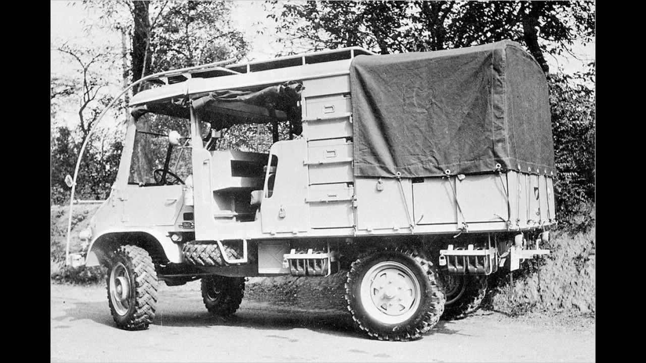 Der Expeditions-Unimog