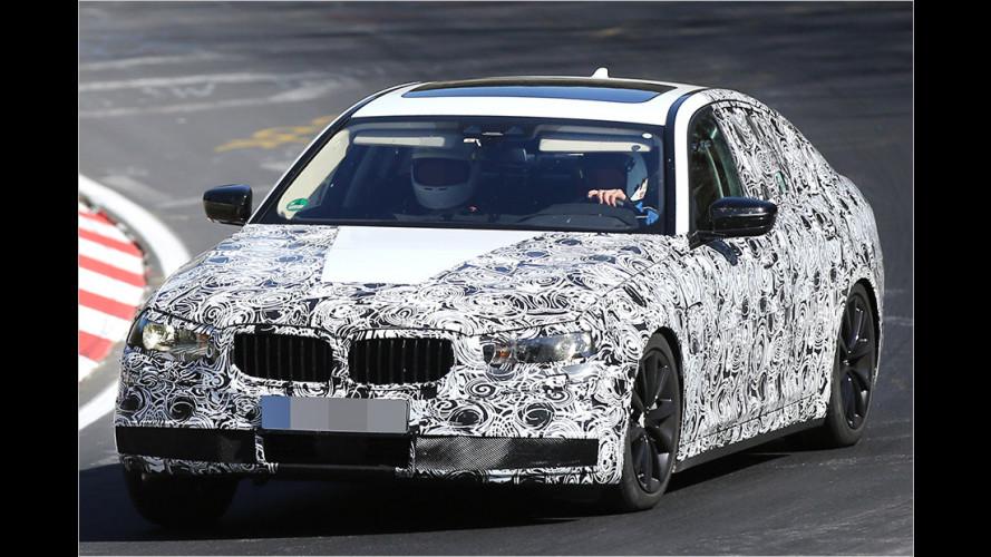 Hier fährt der neue BMW 5er
