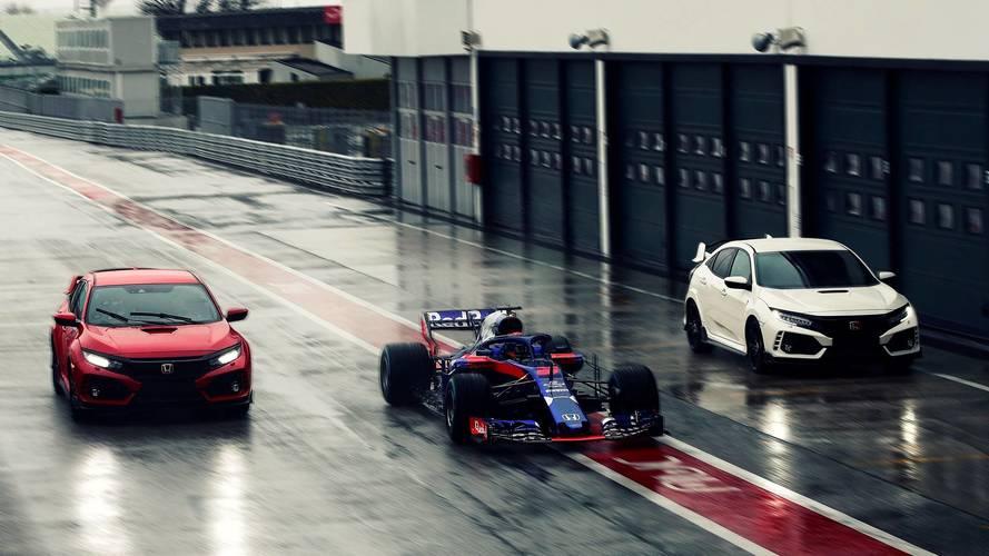 Pierre Gasly va rouler en Honda Civic Type R