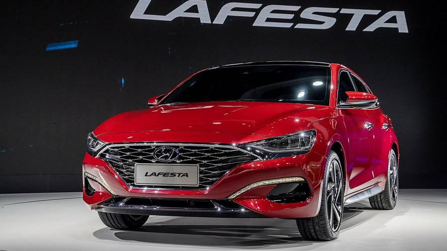 Hyundai Lafesta Is A Korean Sedan With An Italian Name For China