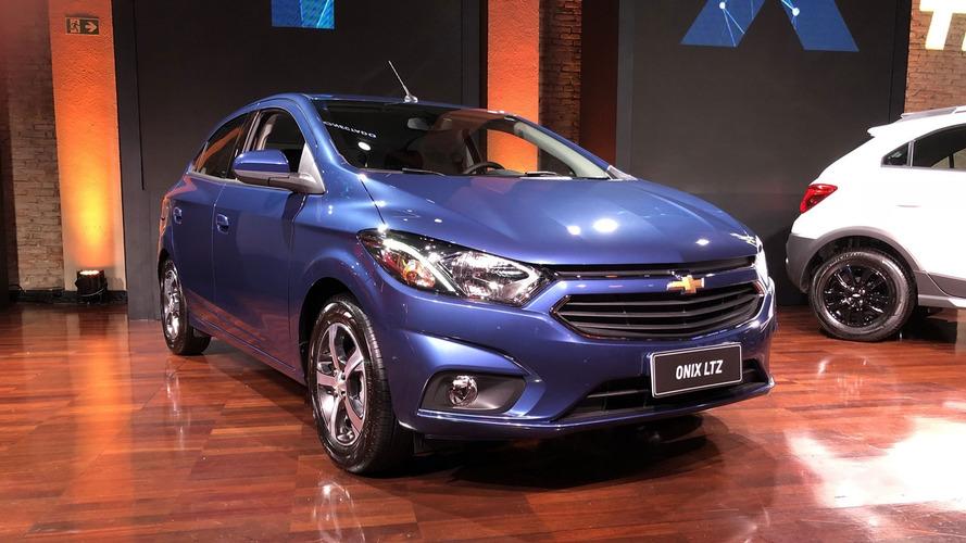 Chevrolet Onix atinge marca de 1 milhão de unidades produzidas