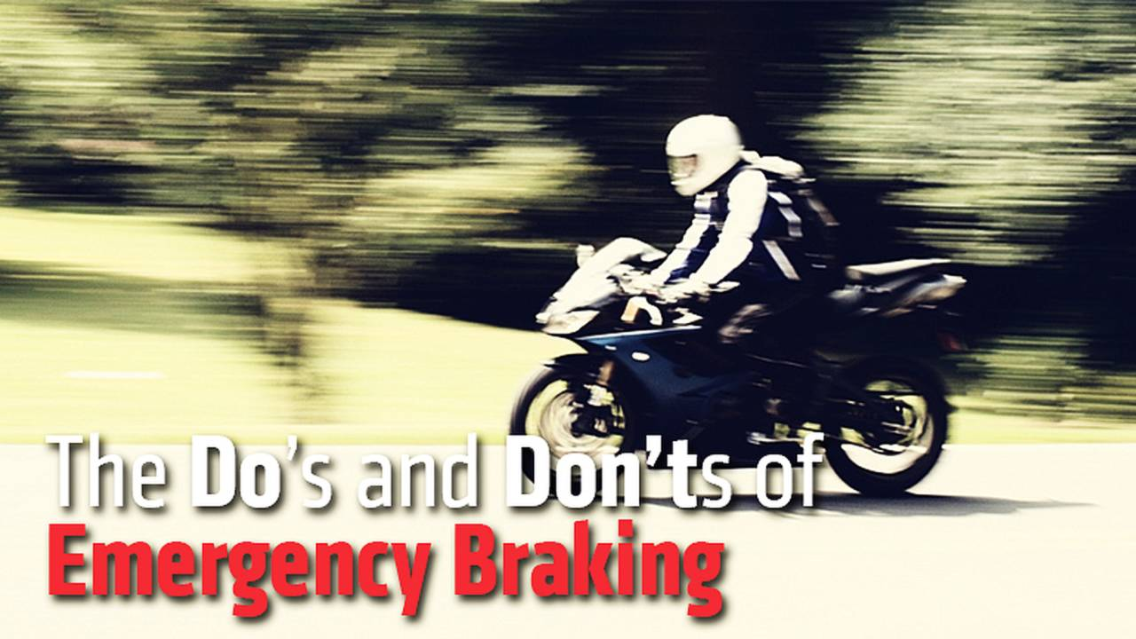 The Do's and Don'ts of Emergency Braking