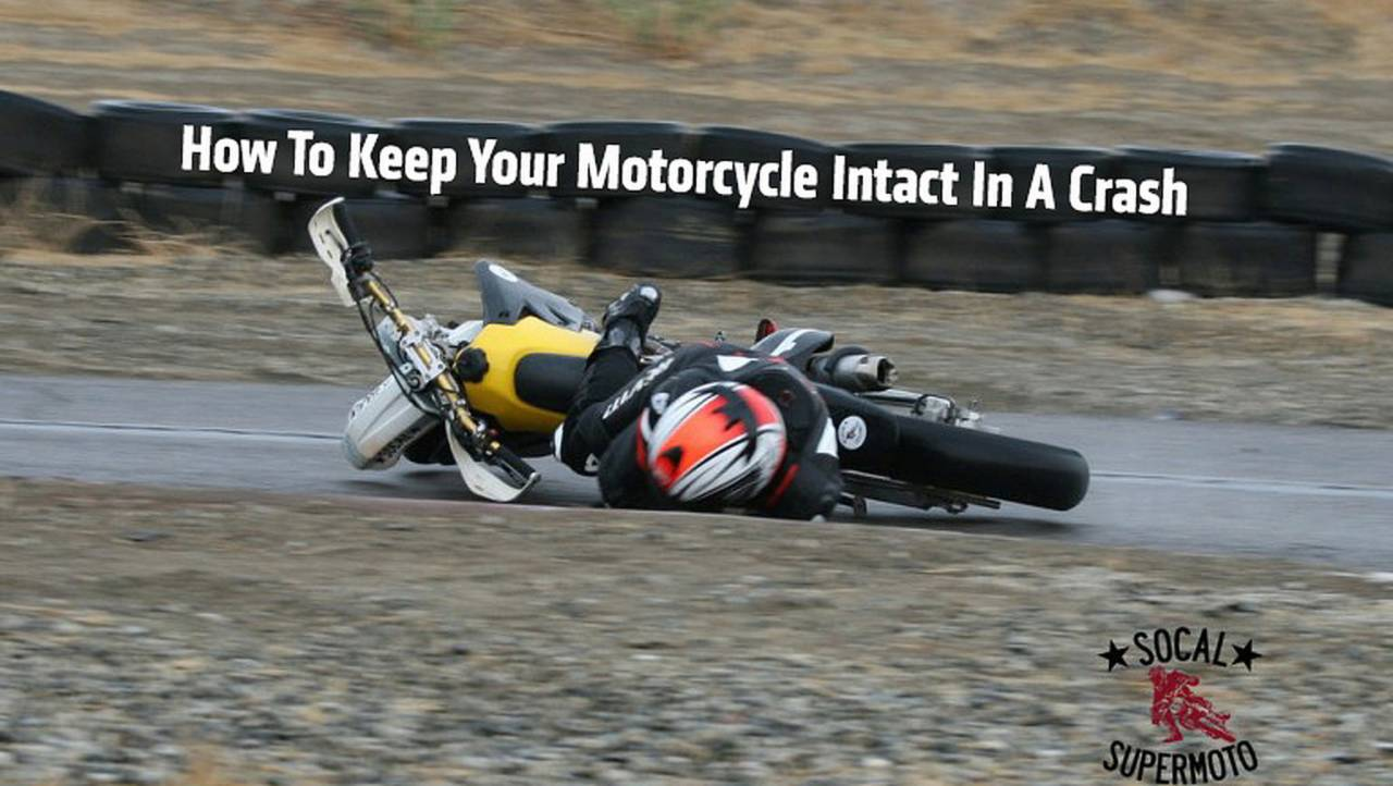 How To Keep Your Motorcycle Intact In A Crash