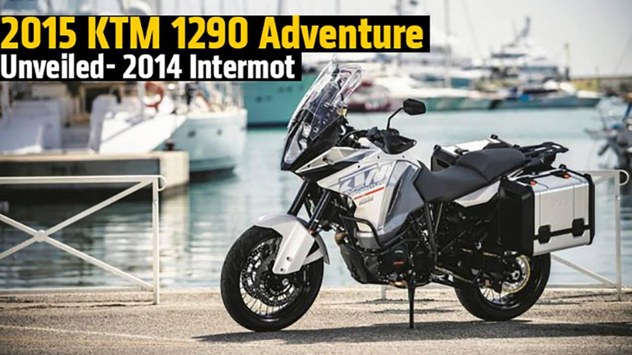 2015 KTM 1290 Adventure Unveiled - 2014 Intermot