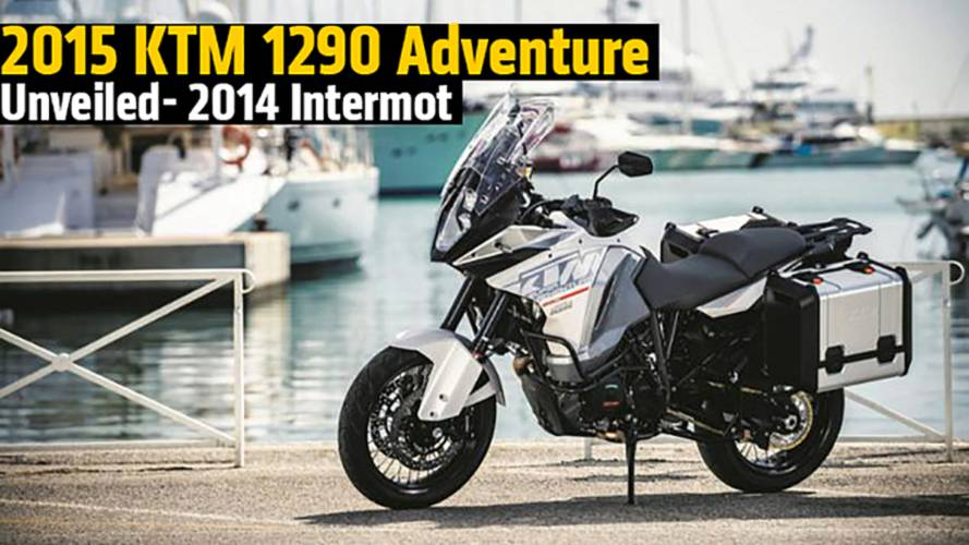 2015 KTM 1290 Adventure Unveiled - 2014 Intermot
