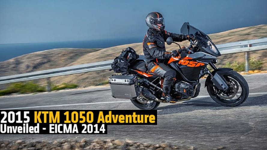 2015 KTM 1050 Adventure Unveiled - EICMA 2014