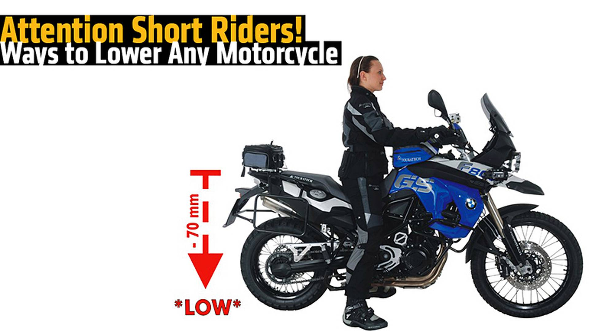 How To Lower Any Motorcycle