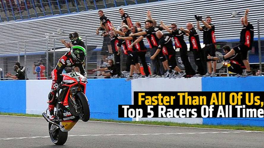 Faster Than All Of Us, The Top 5 Motorcycle Racers Of All Time
