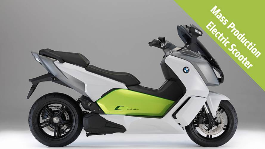 2014 BMW C evolution: First Photos and Specs