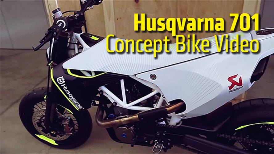 Husqvarna 701 Concept Bike Video