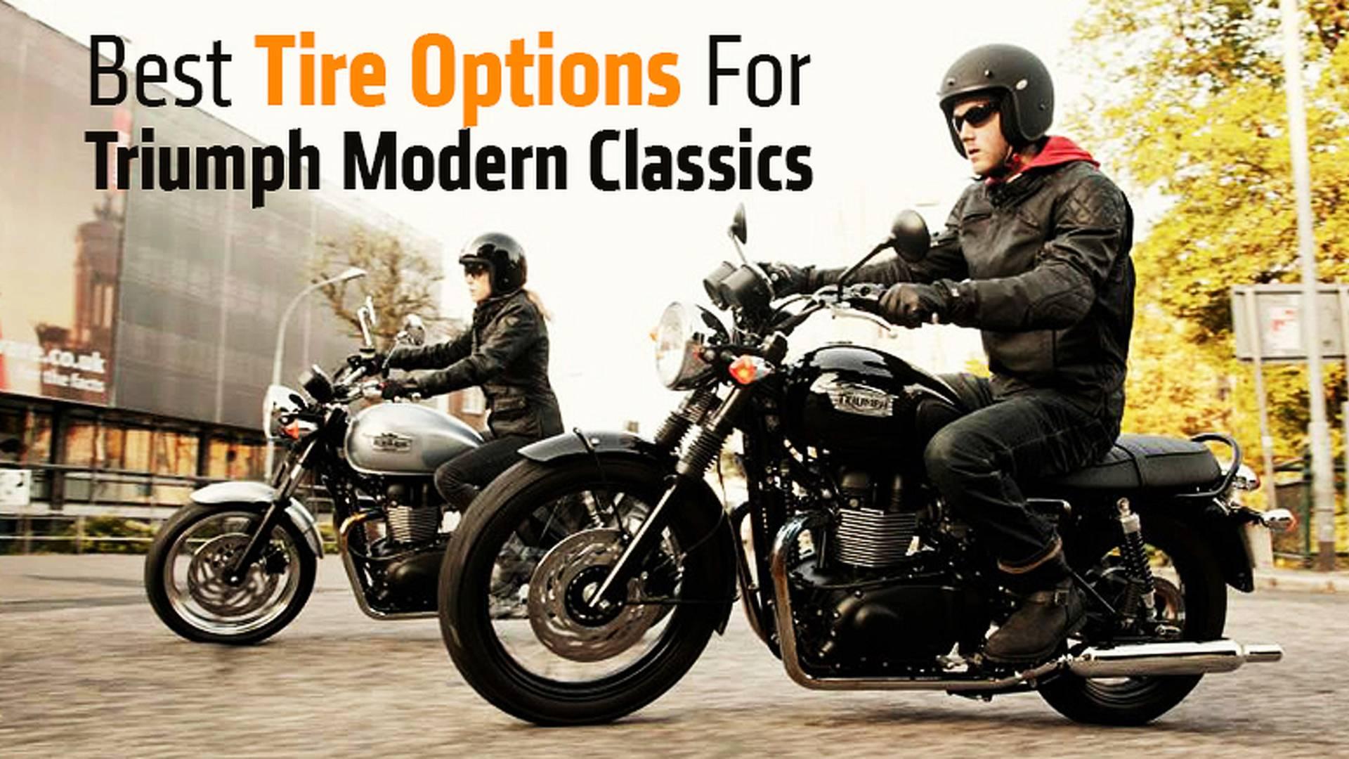 Best Tire Options For Triumph Modern Classics