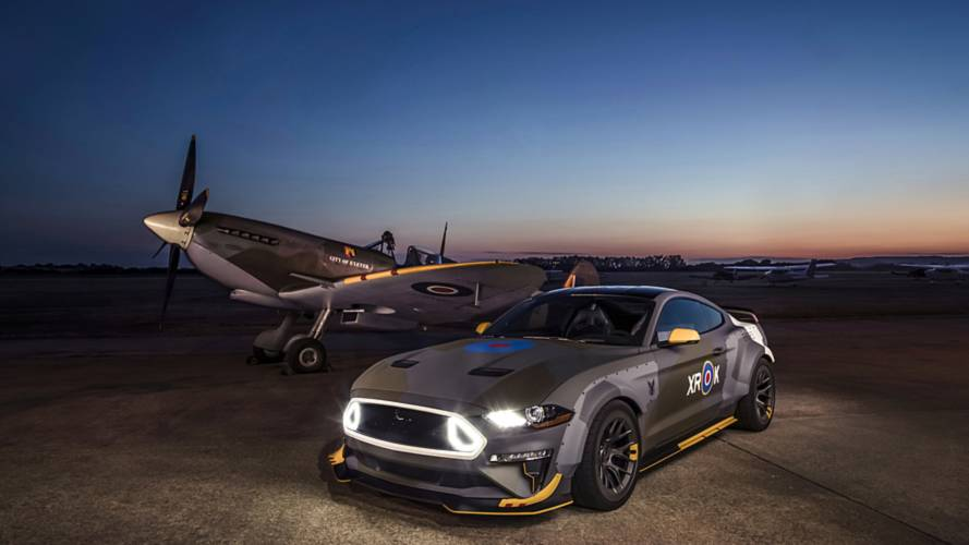Ford Mustang GT Eagle Squadron, quella per Goodwood