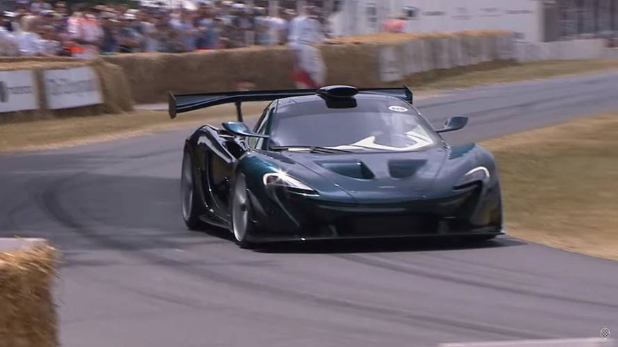 Glimpse the McLaren P1 GT by Lanzante in action at Goodwood