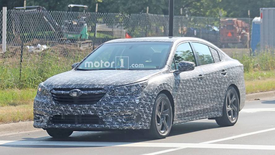 Next-Gen Subaru Legacy Spy Photos