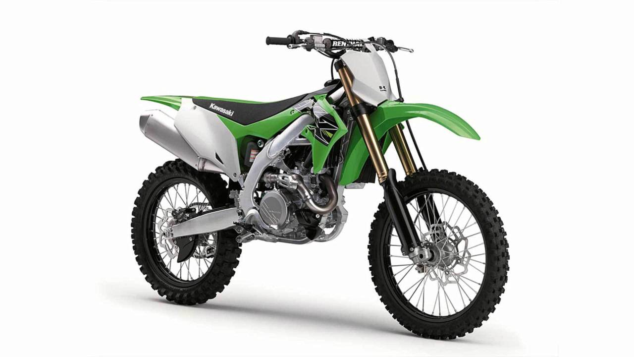 The new KX450 is a sharp looking bike.
