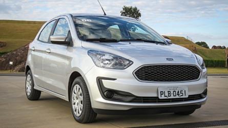 Mais vendidos na 1ª quinzena de setembro: Ka é segundo e Creta lidera SUVs