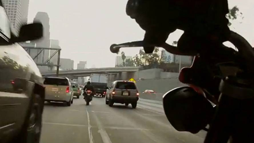 Riding on the Wrong Side: The Freedom of Lane Splitting