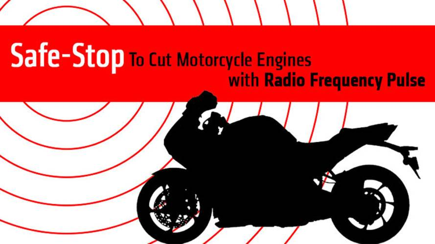 Safe-Stop To Cut Motorcycle Engines with Radio Frequency Pulse