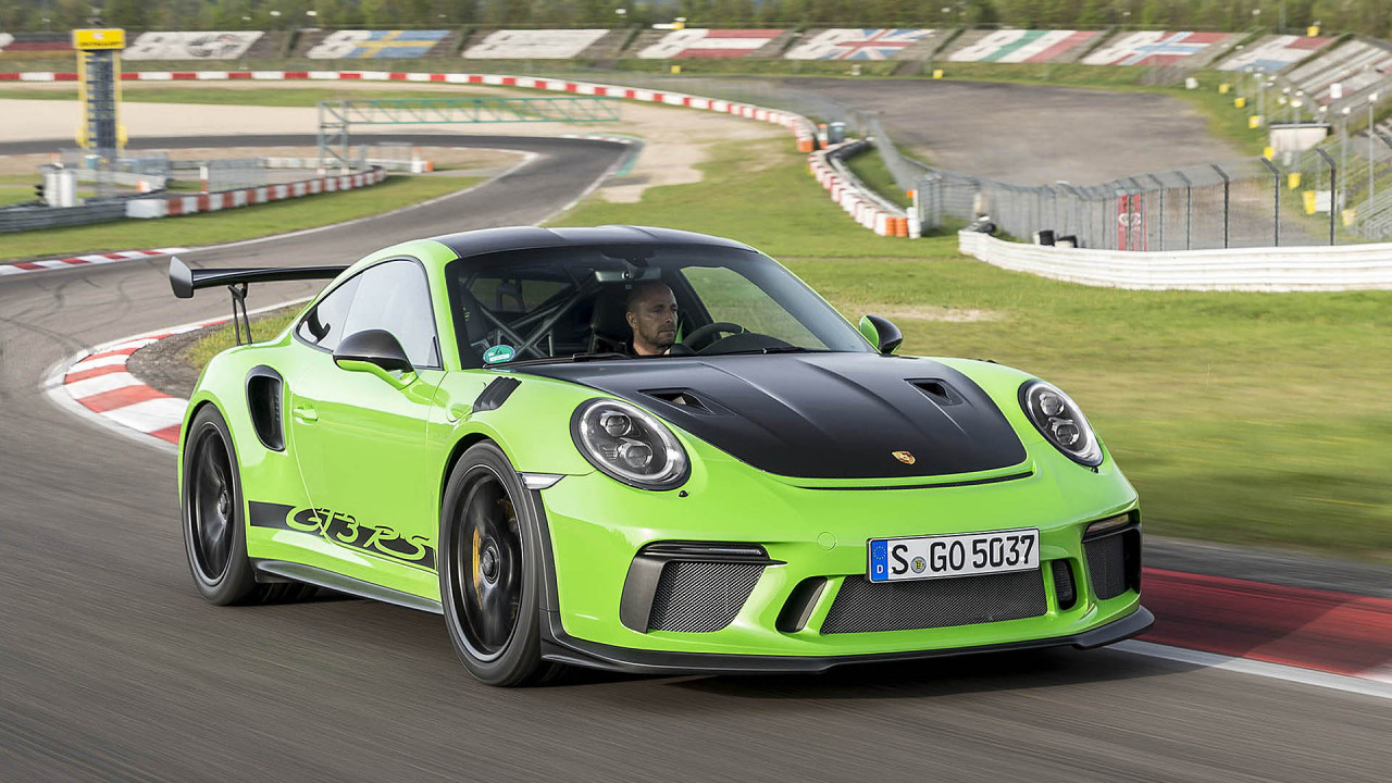 Platz 3: Porsche 911 GT3 RS (6:56.40)