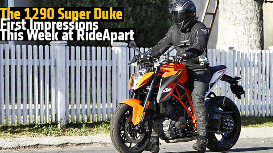 The 1290 Super Duke First Impressions - This Week at RideApart