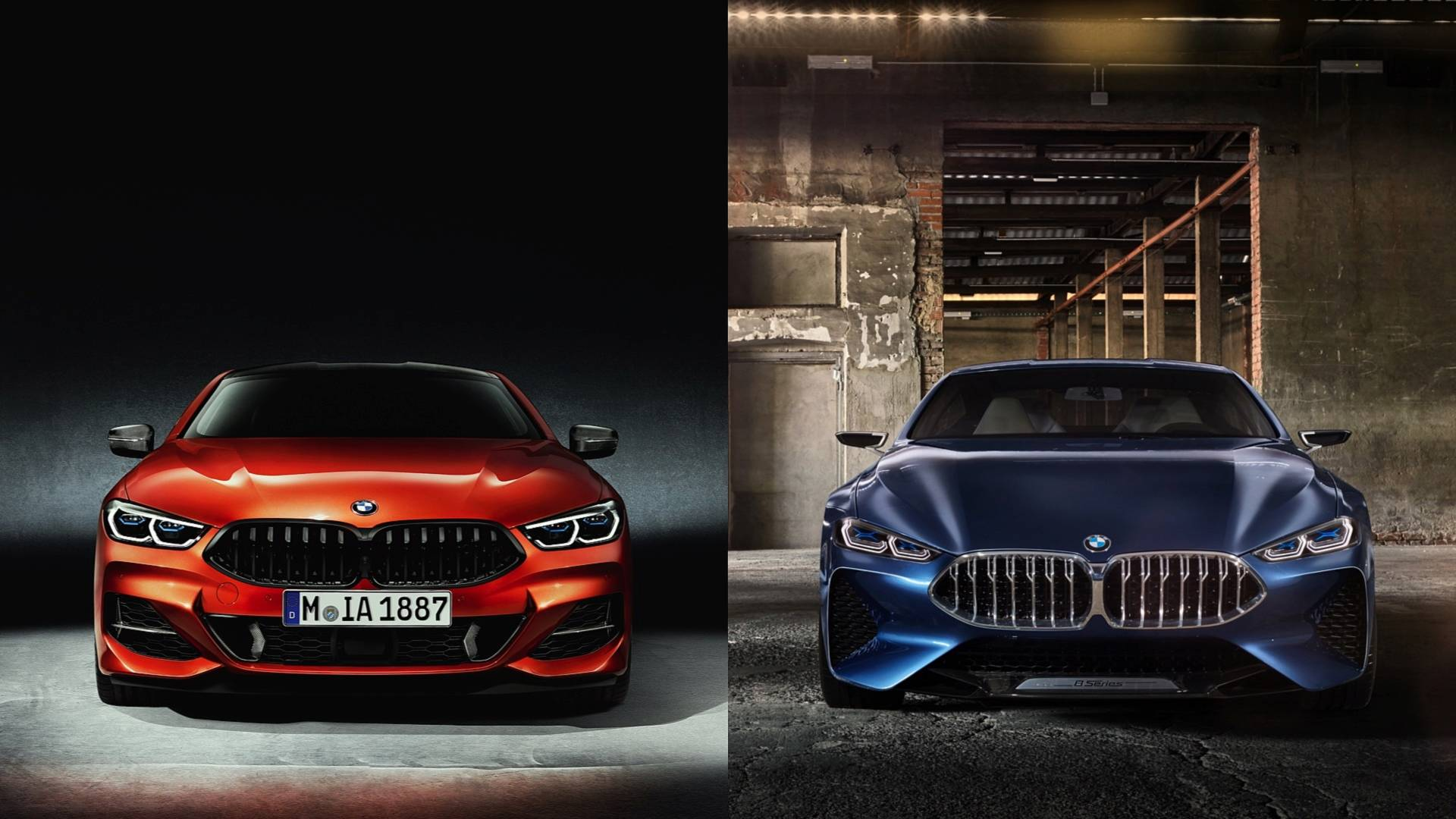 Here S How The New Bmw 8 Series Compares To Concept