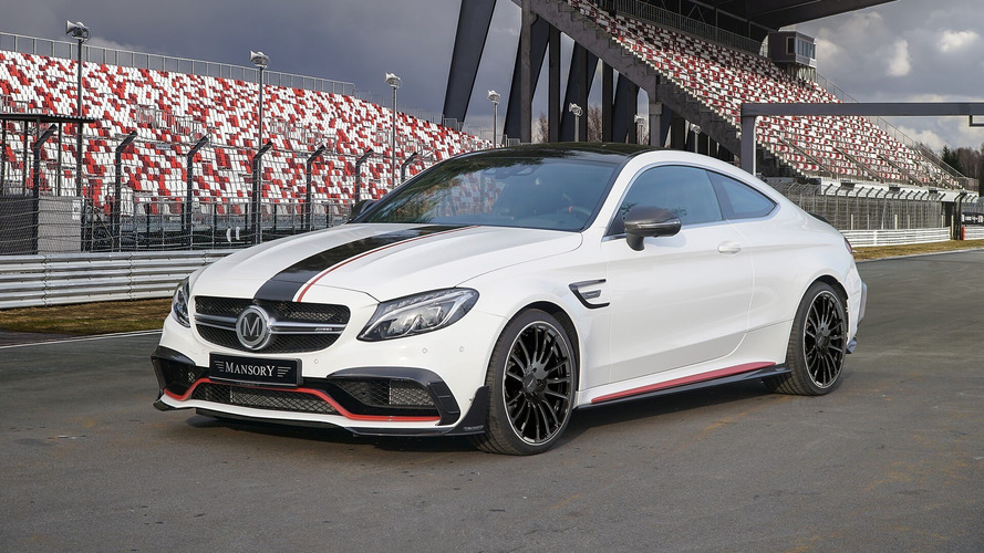 Mansory Turns Mercedes-AMG C63 Into 650-HP, 193-MPH Coupe