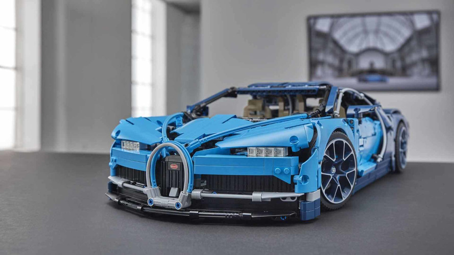 Bugatti helps Lego recover from revenue slump