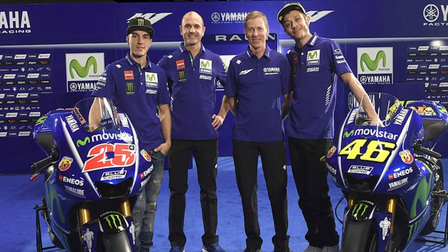 Video of the Day: 2017 Movistar Yamaha MotoGP Team