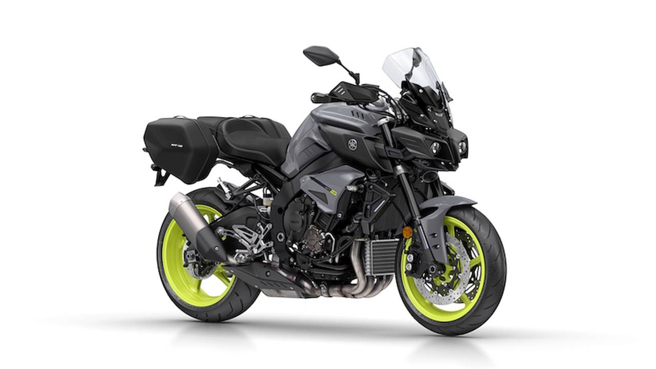 Europeans Get Touring-Ready Yamaha FZ-10
