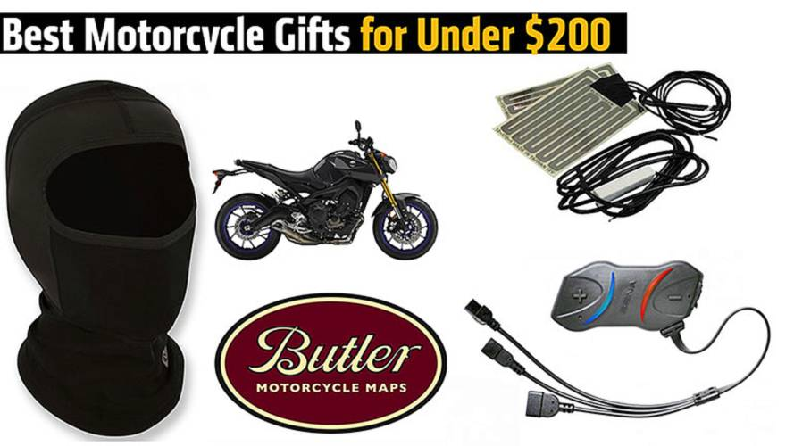 Best Motorcycle Gifts for Under $200