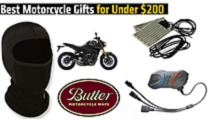 best motorcycle gifts for under 200